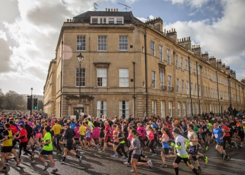 Charity fundraising challenges - Run - Bath Half Marathon