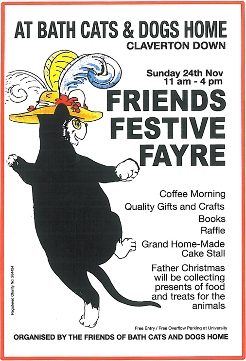 The Friends Of Claverton Cats And Dogs Home Bath