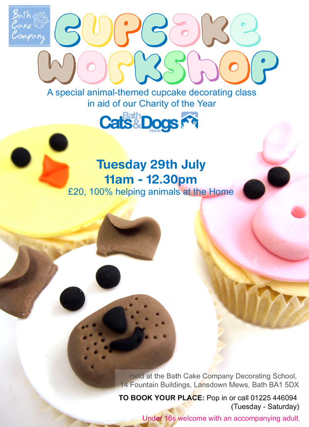 Cake Making Classes Bath : Bath Cats and Dogs Home - Events calendar